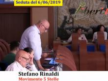 Stefano Rinaldi (M5S) - Seduta del Consiglio Municipale Roma VII del 6/06/2019