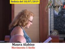 Maura Alabiso (M5S) - Seduta del Consiglio Municipale Roma VII del 18/07/2019