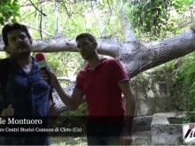 Intervista Fedele Montuoro - Pulizia percorso Fontana du' Siccu a Cleto (Cs)