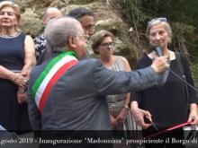 Inaugurazione Madonnina a Cleto (Cs) - 11 Agosto 2019