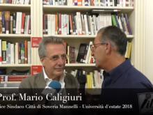 Prof. Mario Caligiuri - Università d'estate 2018, Soveria Mannelli (Cz).