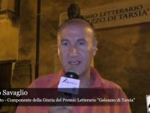 """Antonello Savaglio, giurato del premio Letterario """"Galeazzo di Tarsia"""""""