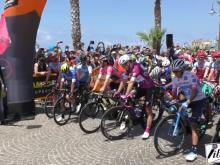 Partenza della settima tappa Giro D'Italia 2018 - Pizzo Calabro