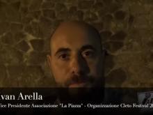 """Intervista ad Ivan Arella, vicepresidente dell'Associazione """"La Piazza"""" - Cleto Festival 2018, Cleto (Cs)"""