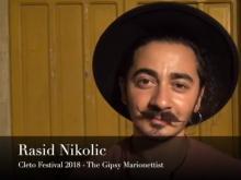 Rasid Nikolic  (The Gipsy Marionettist) - Cleto Festival 2018. Cleto (Cs)