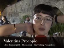 Valentina Procopio - Cleto Festival 2018, Cleto (Cs).