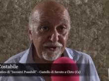 Renato Costabile - Incontri Possibili - Invito al 24 Agosto 2019, intervista di Riccardo Cristiano