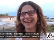 """Intervista ad Angelina Pettinato - Presentazione de """"Il mare che ho dentro"""" di Rosalba Volpe"""