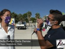Luca Della Porta e Ilaria Darone - 7° Tappa Giro E 2020: Manfredonia - Vieste