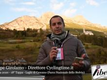Giuseppe Girolamo - Giro d'Italia 2020 - 18° Tappa: Pinzolo - Laghi di Cancano