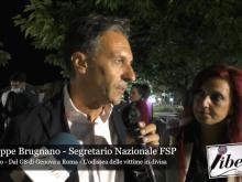 """Giuseppe Brugnano - Convegno """"Dal G8 di Genova a Roma - L'odissea delle vittime in divisa"""""""