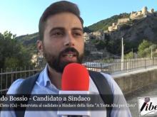 """Armando Bossio, candidato a Sindaco a Cleto (Cs) nella lista """"A testa alta per Cleto"""""""