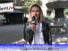 Margherita Welyam, Consigliera PD Municipio RM X - Sit-in del Coordinamento Nazionale Mare Libero