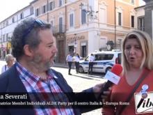 Diana Severati (+ Europa Roma - Alde Party IM ) - XI Marcia per la Libertà dei popoli oppressi