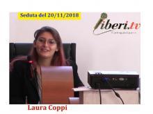 Laura Coppi - Seduta del Consiglio Municipale Roma VII del 20/11/2018