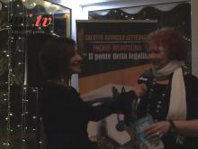 """Antonella Sotira intervista Raffaella Bonsignori - Presentazione di """"Blue Christmas"""" - Premio IUSARTELIBRI"""