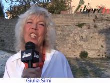 Giulia Simi - XII Marcia internazionale per la Libertà di minoranze e popoli oppressi
