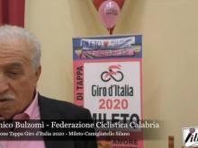 Intervista a Domenico Bulzomì - Presentazione Tappa Giro d'Italia - Mileto Camigliatello Silano