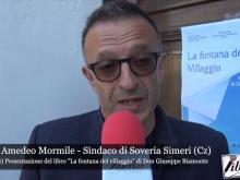 """Intervista a Mario Amedeo Mormile - """"La fontana del villaggio"""""""