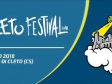 Apertura del Cleto Festival 2018 - Il Risveglio del Borgo, Cleto (Cs).