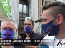 Giro E 2021 - Intervista a Jacopo Rognoni, Amedeo Tabini e Paolo Tarabori - Tappa 15
