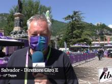 Giro E 2021 - Intervista a Roberto Salvador - Tappa 17