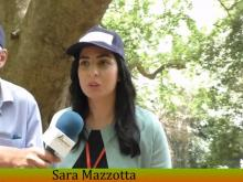 Sara Mazzotta - UNPLI in visita al Platano di Curinga