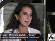 """Wanda Ferro - Convegno """"Dal G8 di Genova a Roma - L'odissea delle vittime in divisa"""""""