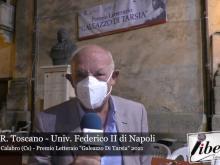 Tobia R. Toscano - Premio Letterario Galeazzo Di Tarsia 2021