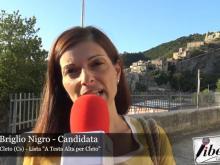 """Maria Briglio Nigro, candidata nella lista """"A testa alta per Cleto"""""""