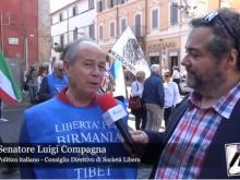 Luigi Compagna (Consiglio Direttivo di Società Libera) - XI Marcia per la Libertà dei popoli oppressi