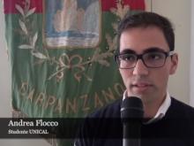 Andrea Flocco, studente UNICAL - I ragazzi della Fiumarella, un disastro ferroviario a colori
