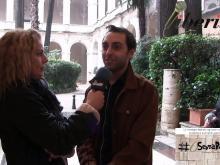 Sheyla Bobba, Presidente dell'associazione SenzaBarcode e Mirko Gloriani