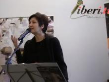 "Maria Luisa Bigai recita ""L'infinito"" di G. Leopardi - ""QUALE GIUSTIZIA ?"" di Michele Leoni - IUSARTELIBRI"