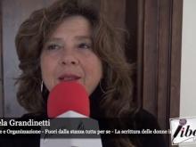 """Intervista a Daniela Grandinetti, ideatrice e organizzatrice dell'evento """"Fuori dalla stanza tutta per sè"""""""