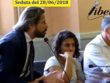 Athos De Luca - Seduta del Consiglio municipale RM X del 28/06/2018