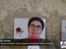 """Intervista a Raffaella Arena - Mostra Fotografica """"Corpi"""""""