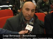 Intervista a Luigi Bevacqua - Presentazione Tappa Giro d'Italia 2020 - Mileto Camigliatello Silano