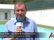 Riapertura della piscina comunale e del parco giochi - Intervista al Sindaco di Scigliano (Cs)
