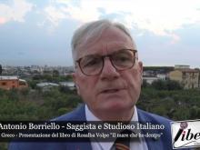 """Intervista al Prof. Antonio Borriello - Presentazione de """"Il mare che ho dentro"""" di Rosalba Volpe"""