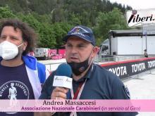 Giro d'Italia 2021- Intervista ad Andrea Massaccesi - Tappa 6