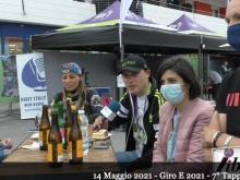 Giro E 2021 -  Intervista ai partecipanti alla Tappa - Tappa 7
