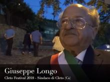 Giuseppe Longo - Cleto Festival 2018, Cleto (Cs).