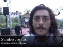 Sandro Joyeux - Cleto Festival 2018, Cleto (Cs).