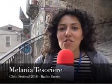 Melania Tesoriere (Radio Barrio) - Cleto Festival 2018, Cleto (Cs).