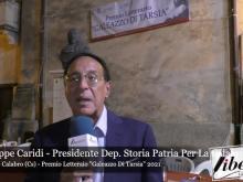 Giuseppe Caridi - Premio Letterario Galeazzo Di Tarsia 2021
