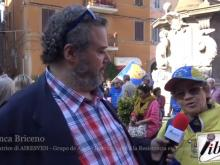 Blanca Briceño (AIRESVEN) - XI Marcia per la Libertà dei popoli oppressi