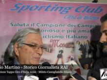 Intervista a Giorgio Martino - Presentazione Tappa Giro d'Italia 2020 - Mileto Camigliatello Silano
