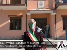 Pasquale Taverna - Stop alla violenza sulle donne - Bianchi (Cs) -  25 novembre 2020