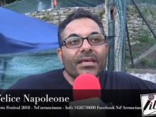 Felice Napoleone, I Giganti Nd'arranciamu - Cleto Festival 2018, Cleto (Cs).